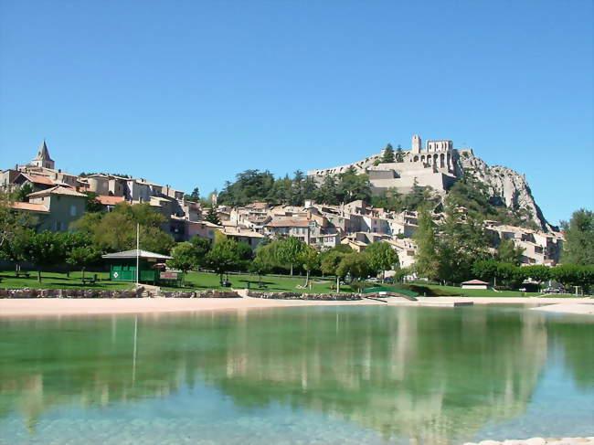 Vue sur Sisteron